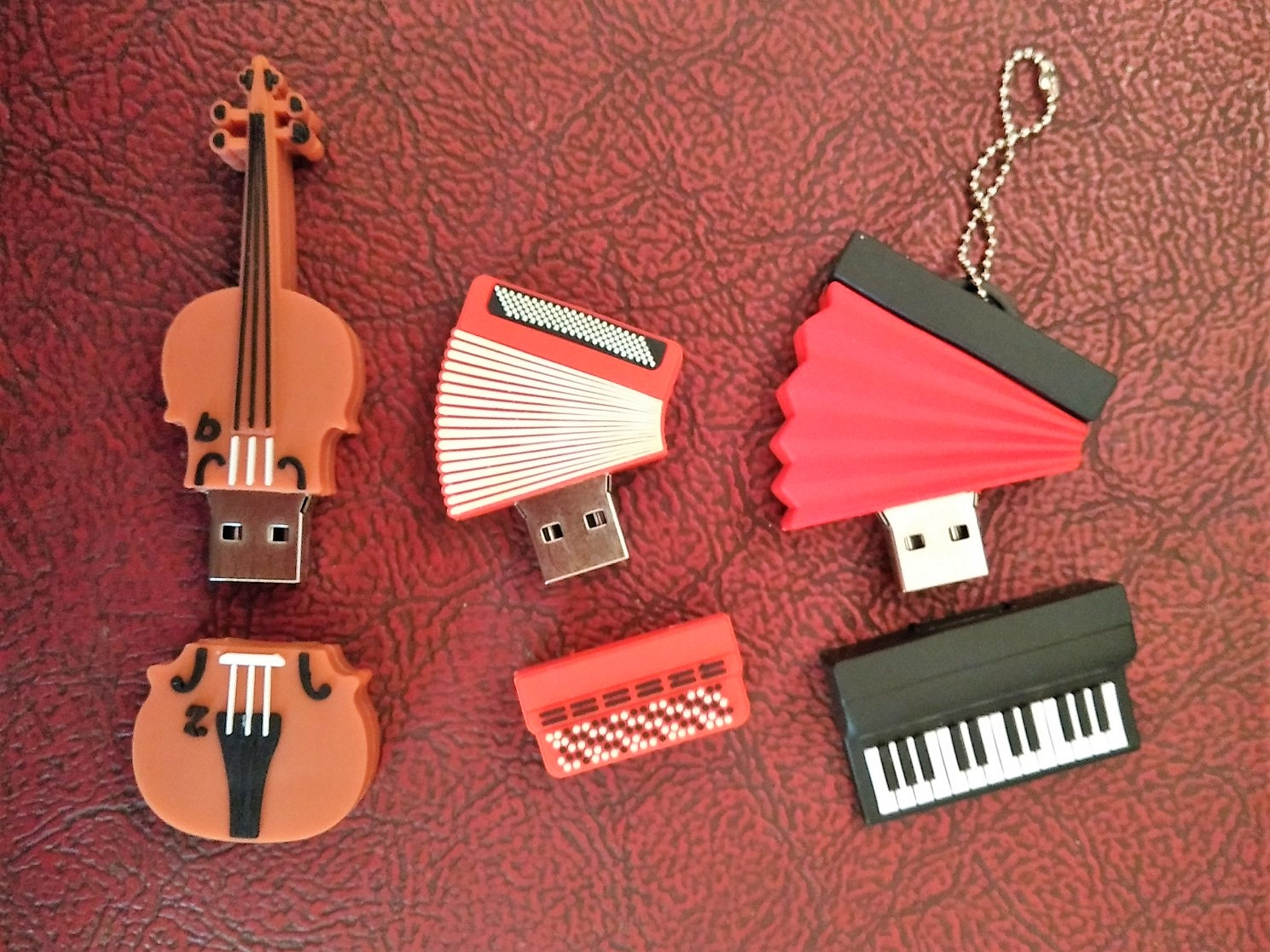 musical instrument pen drives (open)