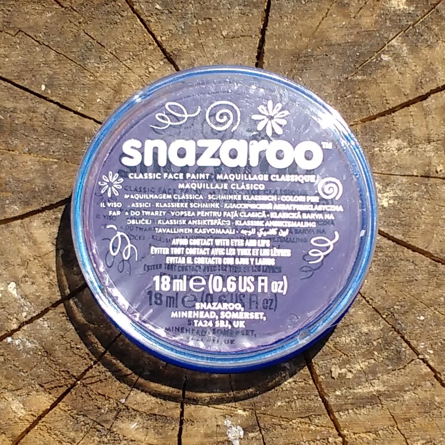 Snazaroo facepaint purple