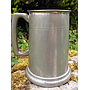 1 Pt Pewter Tankard, embossed with key and 21