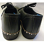 Clogs - Black - Size 8 - Embossed with pattern on toe